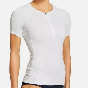Athleta Pacifica Short Sleeve Tee in Bright White